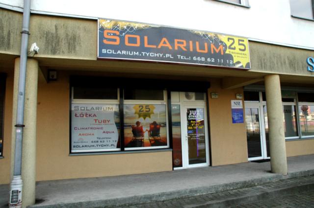 Solarium tischnera25 tychy wejscie
